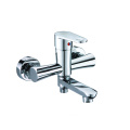 Wall-mounted brass bathtub hand shower faucet 2 function