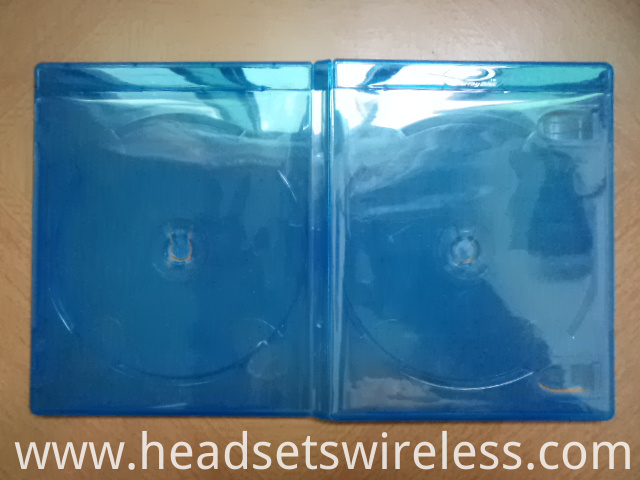 11mm Double Blue Dvd Case3