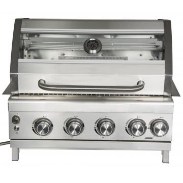 4 Burner Stainless Steel Built-In Garden Gas Grill
