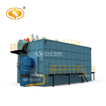 Double Drum Horizontal Gas Fired Steam Boiler