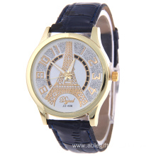 Rhinestone Eiffel Quartz Watch