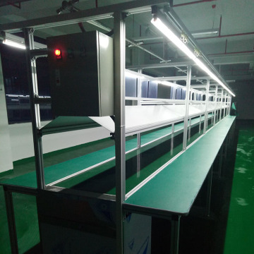 Flat Belt Conveyor Smartphone Assembly Line