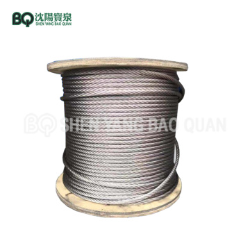 Tower Crane Hoisting Rope 16mm Wire Rope