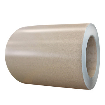 Precoated aluminum sheet in coil