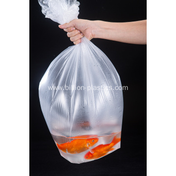 White Plastic Garbage Bag on Roll