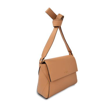 High Quality Vintage Leather Women Crossbody Bag