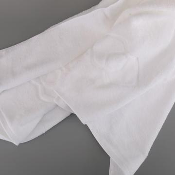 Factory supply 100% cotton towel with satin edge