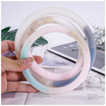 DIY Making Bracelet Ring Silicone Mold for Crystal Epoxy Mould For Resin Jewelry Making
