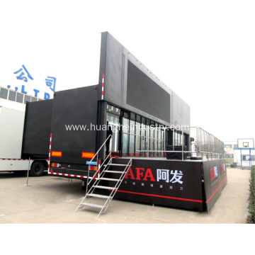 Mobile Stage Vehicle With LED Screen