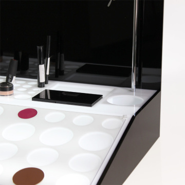 APEX Custom Counter Cosmetic Makeup Acrylic Display Rack