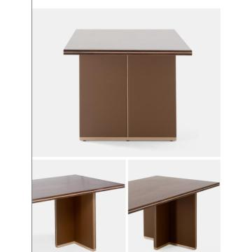 2018 New Design Wooden Furniture Restaurant Dining Table