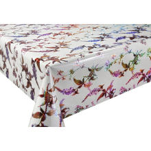 3D Laser Coating Tablecloth 108 Inches