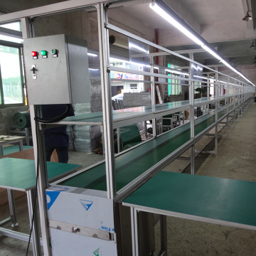 Belt Conveyor Assembling Line with Assembly Table
