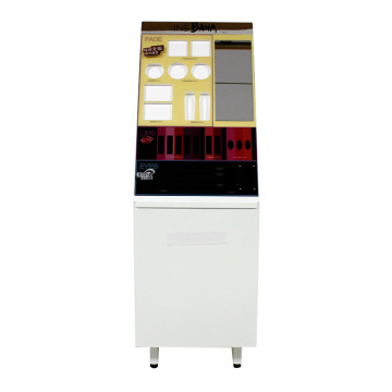 APEX Custom Acrylic Cosmetic Storage Display Floor Stand