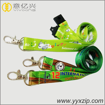 double sided cartoon logo custom children's lanyards