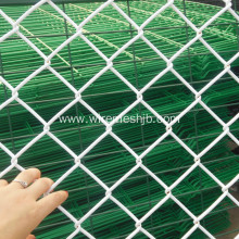 White Coulor Vinyl Coated Chain Link Fence Fabric