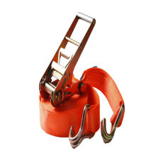 Big Size 4'' / 100MM Aluminum Handle Cargo Lashing Belt