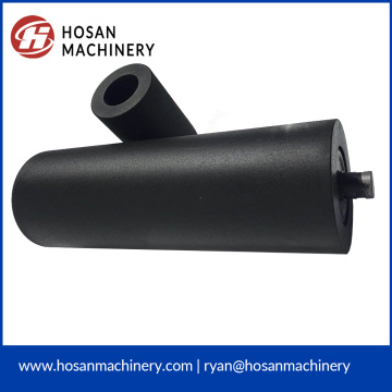 Conveyor composite flat carry roller