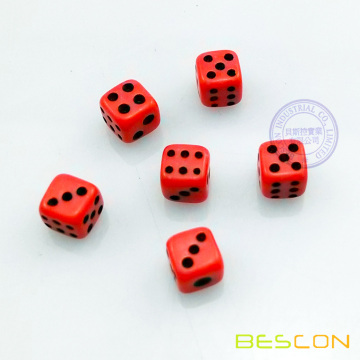 Colorful Small Dice 5MM
