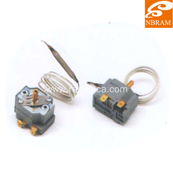Type F Stainless Steel Capillary Thermostat