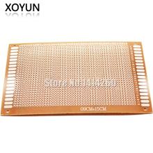 10pcs/lot universal plate 5*7 5CM*7CM experiment plate Circuit board Circuit board
