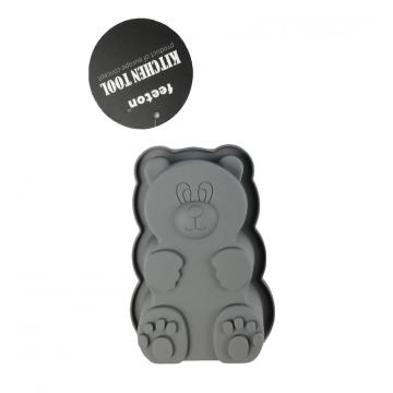 silicone cute bear carton bakeware