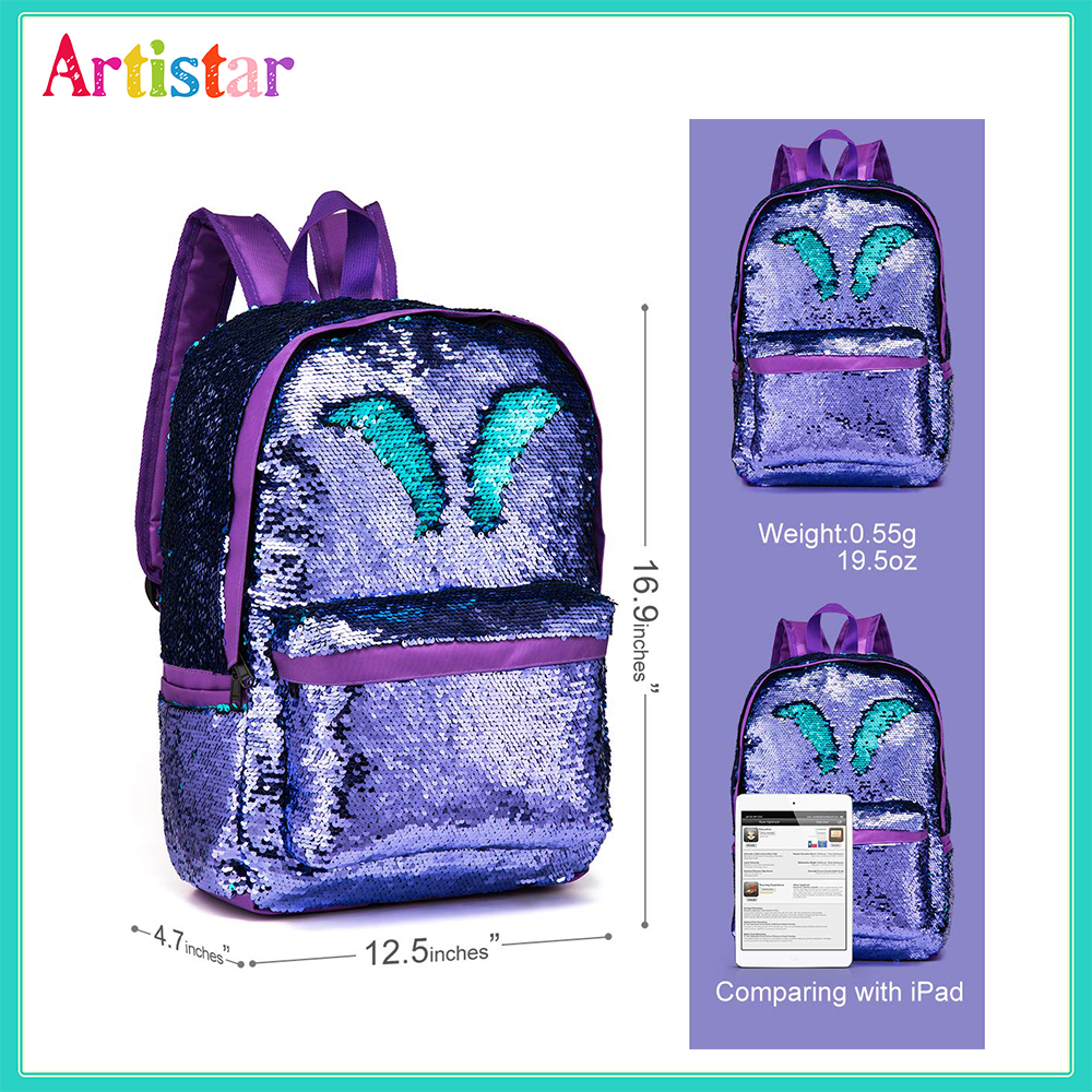 Sequins Backpack 02 2