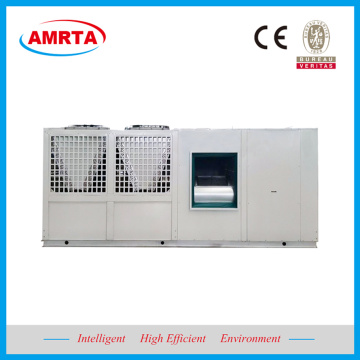 Packaged Air Conditioner with Hot Water Coil