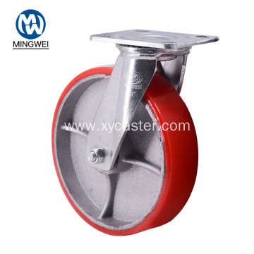Swivel 8 Inch Caster Wheel with Bearing