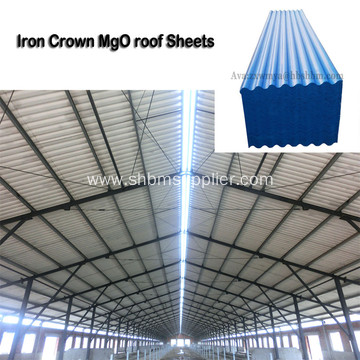 Fireproof Insulating MgO Roofing Sheets for Farm House