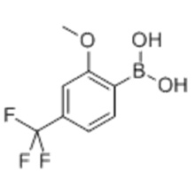 2-METHOXY-4- (TRIFLUOROMETHYL) -PHENYLBORONIC ACID CAS 312936-89-3