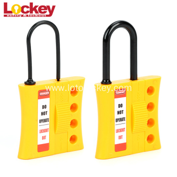 4 Hole Lockout Hasp with PA Shackle