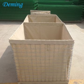 1x1x1m Military Welded Galfan Coated Hesco Barrier