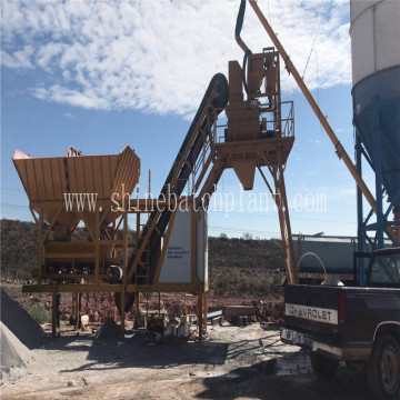 40 Mobile Concrete Plant with Scheneider Components
