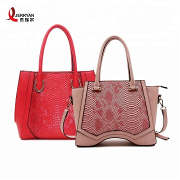 Fashion Women Red Leather Handbags Shoulder Bags