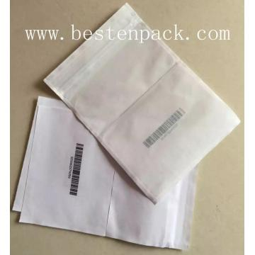 changeable barcode packing list envelope