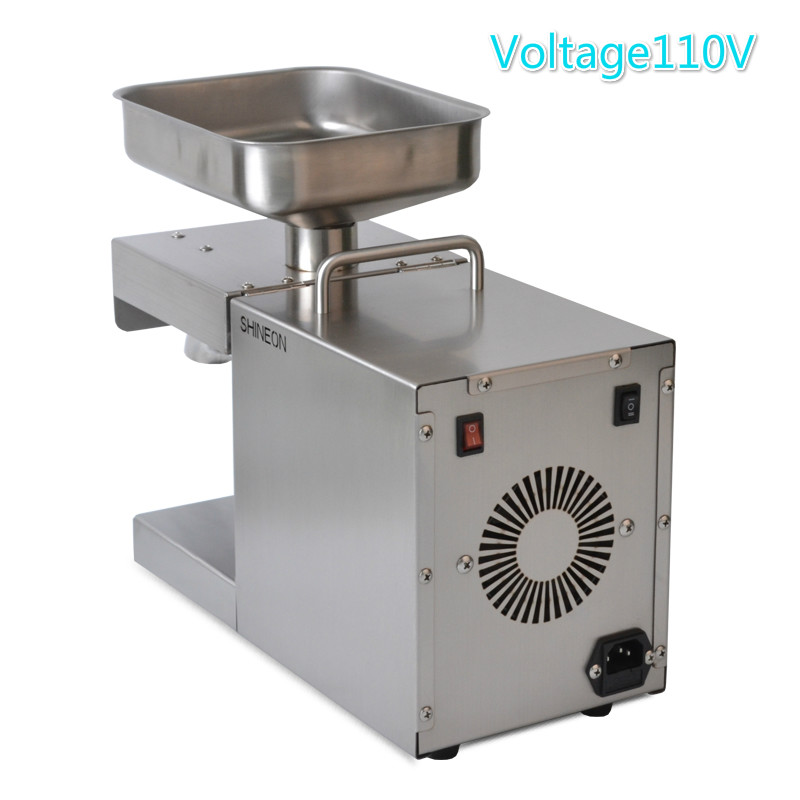 Fully automatic Household Commercial use Oil press Hot and cold pressed 304 stainless steel Flaxseed Peanut oil Soybean oil