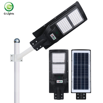 High efficiency radar sensor led solar streetlight
