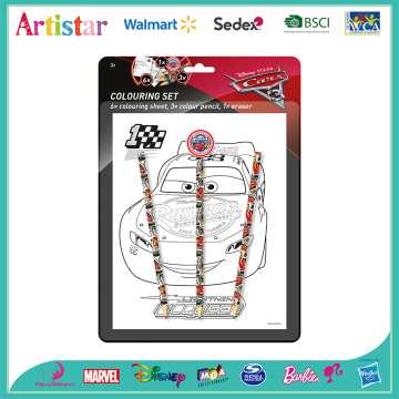 Disney Cars blister card set 4