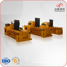 Automatic Hydraulic Aluminium Metal Shavings Baler Machine