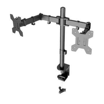LCD Monitor Swivel Mount Dual Aluminum Arms