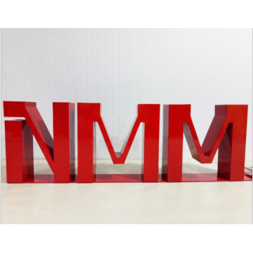 High Quality Big Painted Metal Letters for Signs