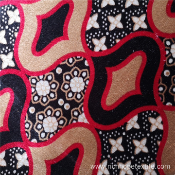 Factory Price Polyester African Textile Fabric Knitted