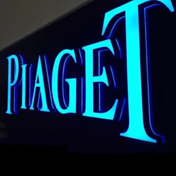 3D Illuminated Acrylic Sign Channel Letter Logo
