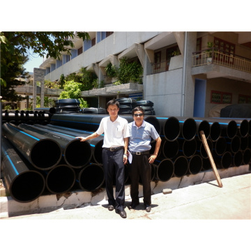 HDPE pipe line for water transportation and distribution
