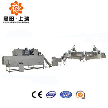 Extruder automatic pet chew production line