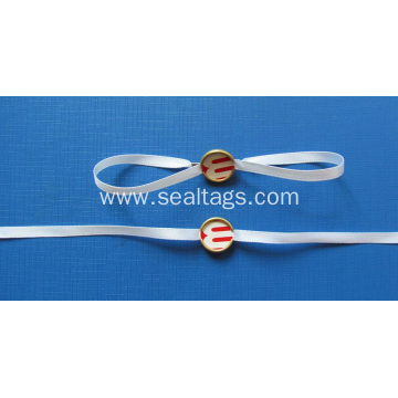 Custom Brand Name Logo Gold Metal Seal Tag
