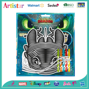 Dragon mask&marker blister card set