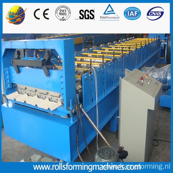 1000 Trapezoid Steel Roofing Sheet Roll Forming Machine