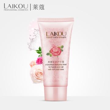 LAIKOU Hand Cream Hand Rose Essence Oil SkinCare Moisturizing Anti Aging Anti Wrinkles Skin Care Rose Base Care Cream para